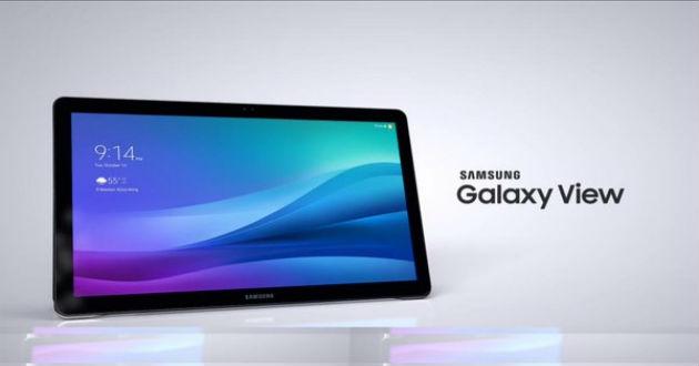 Nueva Samsung Galaxy View.