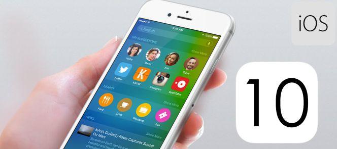 Apple ofrece un avance de iOS 10, la mayor actualización en la historia de iOS.